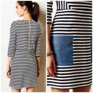 Striped Anthropologie Dress